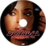 Scandal: Season 2 (2012-2013) Custom DVD Labels