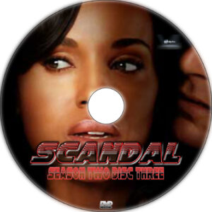 scandal season 2 dvd label