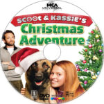 Scoot & Kassie's Christmas Adventure (2013) R1 Custom DVD Label