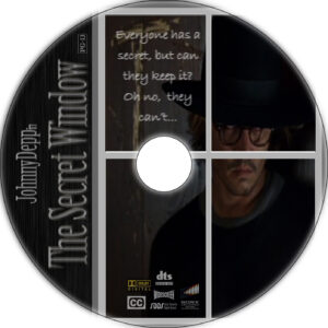 the secret window cd cover