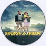 Seeking a Friend for the End of the World (2012) R0 Custom DVD Label