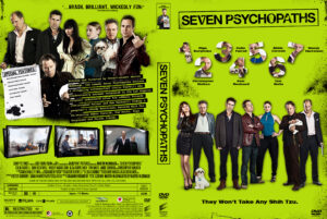 Seven Psychopaths 2012 CUSTOM Front