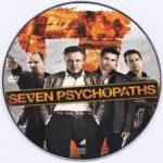 Seven Psychopaths (2012) R0 Custom DVD Label