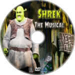 Shrek the Musical (2013) R1 Custom CD Cover