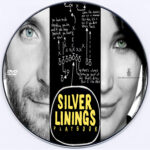 Silver Linings Playbook (2012) R0 Custom DVD Label