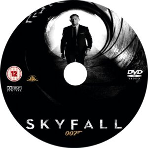 Skyfall 2012 CD Custom
