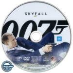 Skyfall (2012) R4 DVD Label