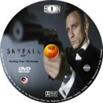 Skyfall (2012) R0 Custom dvd/blu-ray labels