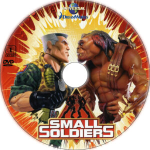 small soldiers cd cover