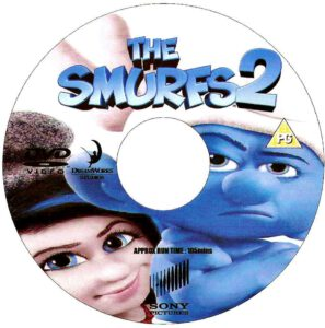 Smurfs 2 custom disc