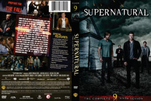 Supernatural Season 9 (2013) DVD Cover