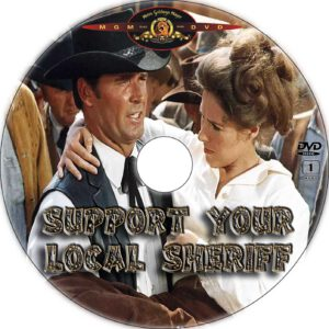 support your local sheriff cd cover