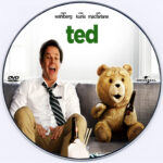 Ted (2012) R0 – CD label