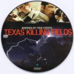 Texas Killing Fields (2011) R0 Custom DVD Label