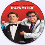 That's My Boy (2012) – CD Label