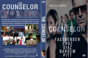 The Counselor dvd COVER