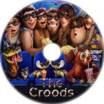 The Croods (2013) Custom DVD Label
