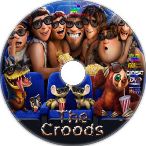 the croods 2013 dvd label
