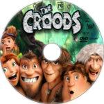 The Croods (2013) R1 Custom CD Cover