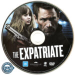 The Expatriate (2012) R4 DVD Label
