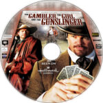 The Gambler, The Girl and the Gunslinger (2009) R0 Custom DVD Label