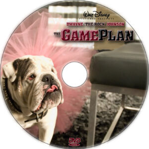 the game plan dvd label