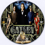The Great Gatsby (2013) R0 Custom CD Cover