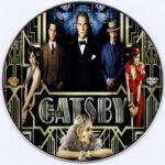 The Great Gatsby (2013) R0 Custom CD Cover