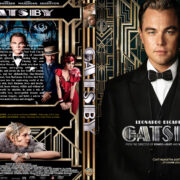 The Great Gatsby (2013) R0 Custom DVD Cover