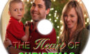 The Heart of Christmas (2011) R1 Custom DVD Label
