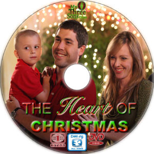 the heart of christmas dvd label