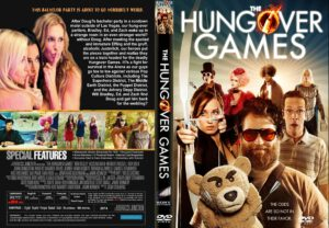 The Hungover Games (2014) R1 CUSTOM DVD COver