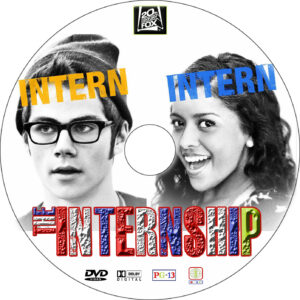 the internship dvd label