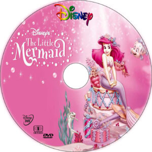 the little mermaid 1 dvd label