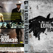 The Lone Ranger (2013) R0 Custom DVD Cover