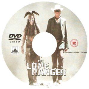 The Lone Ranger (2013) R2 custom disc