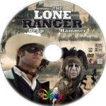 The Lone Ranger (2013) R1 Custom CD Cover