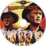 The Magnificent Seven (1960) R1 Custom DVD Label