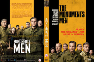 The Monuments Men dvd cover