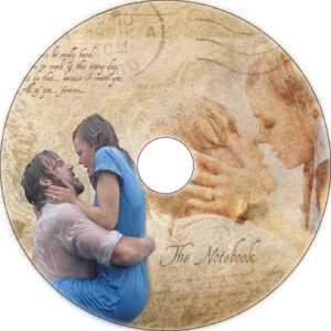 the notebook cd cover