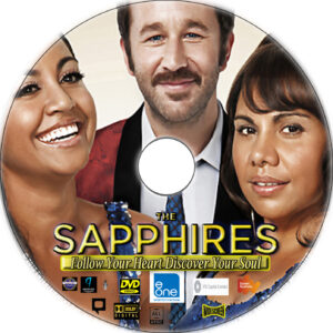 the saphires dvd label