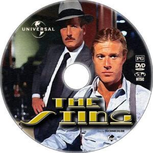 the sting dvd label