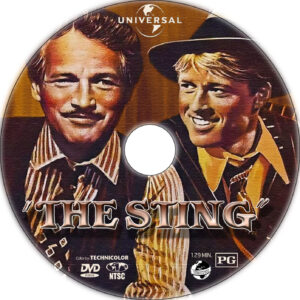 the sting dvd label