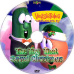 The Toy That Saved Christmas (1996) Custom DVD Label