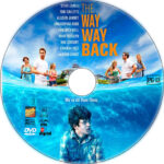 The Way Way Back (2013) R1 Custom DVD Label
