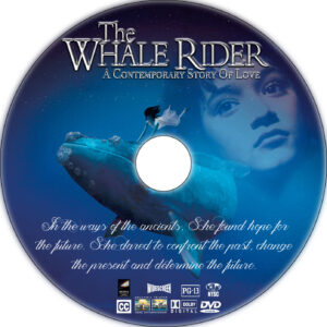 whale rider cd cover