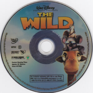 The Wild (2006) R1 - Cartoon DVD - CD Label, DVD Cover ...