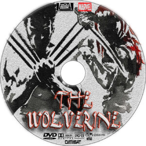 the wolverine 2013 dvd label
