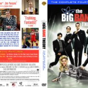 The Big Bang Theory: Season 1-2-3-4 Front DVD Covers
