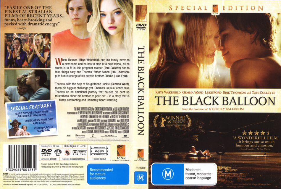 the black balloon 2008 full movie